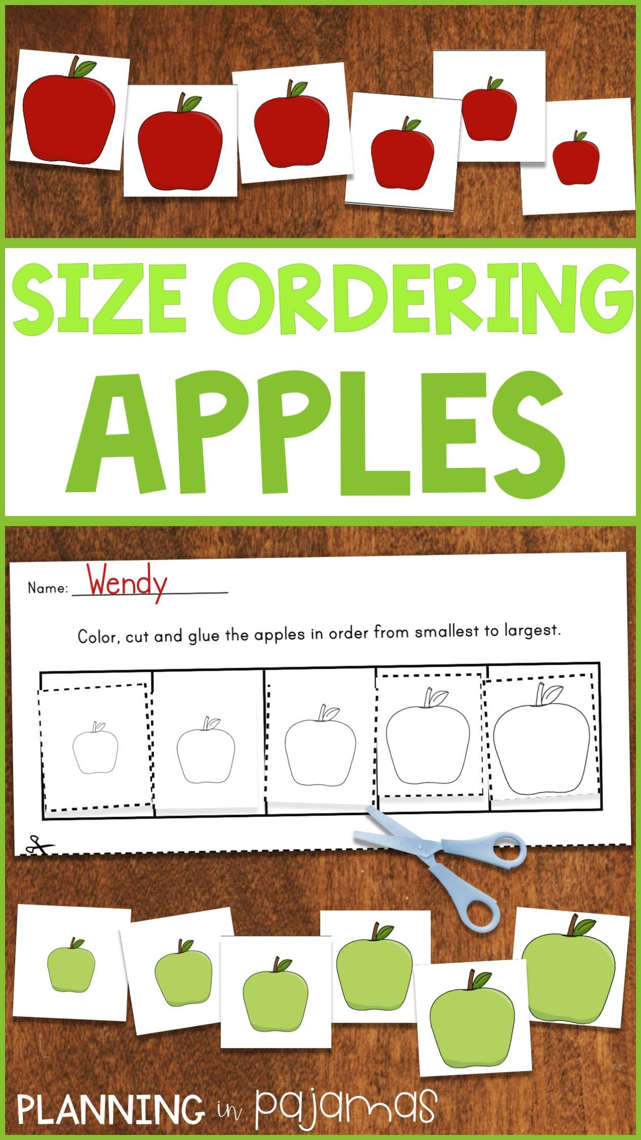 Apple Size Ordering From Smallest To Largest