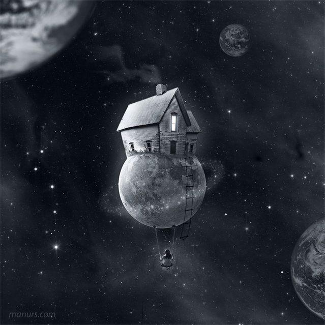 Surreal Art by Manuel Rodriguez Sanchez
