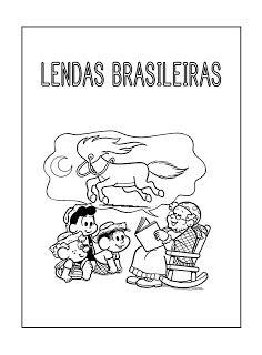Lendas Brasileiras Com Imagens Atividades De Folclore