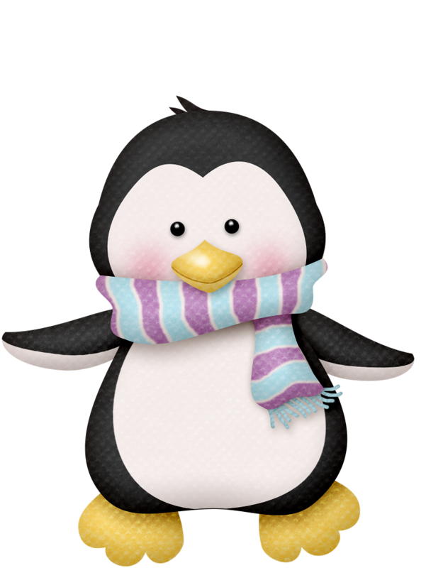 PENGUIN CLIP ART | lutin de noel | Pinterest | Penguins ...