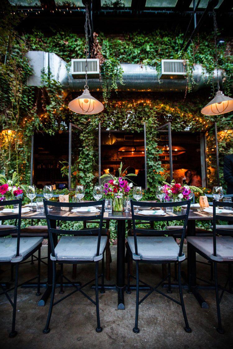 Rustic Aurora Ristorante Wedding Rustic restaurant