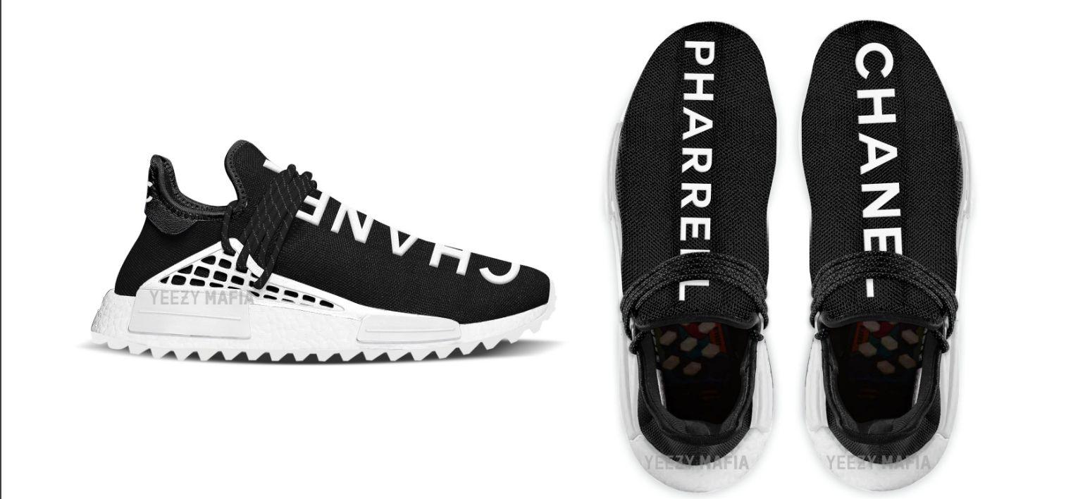 Pharell x Chanel x Adidas NMD