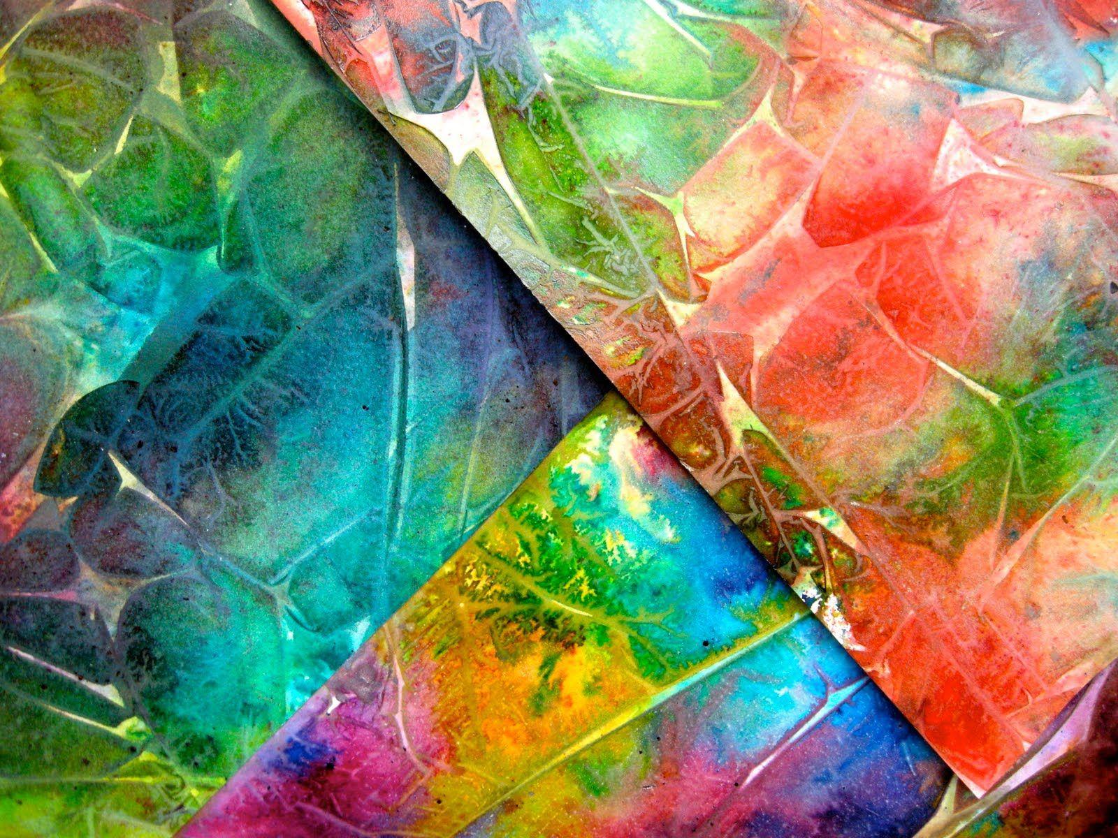 Spray Starch backgrounds   Alcohol ink art, Art journal ...