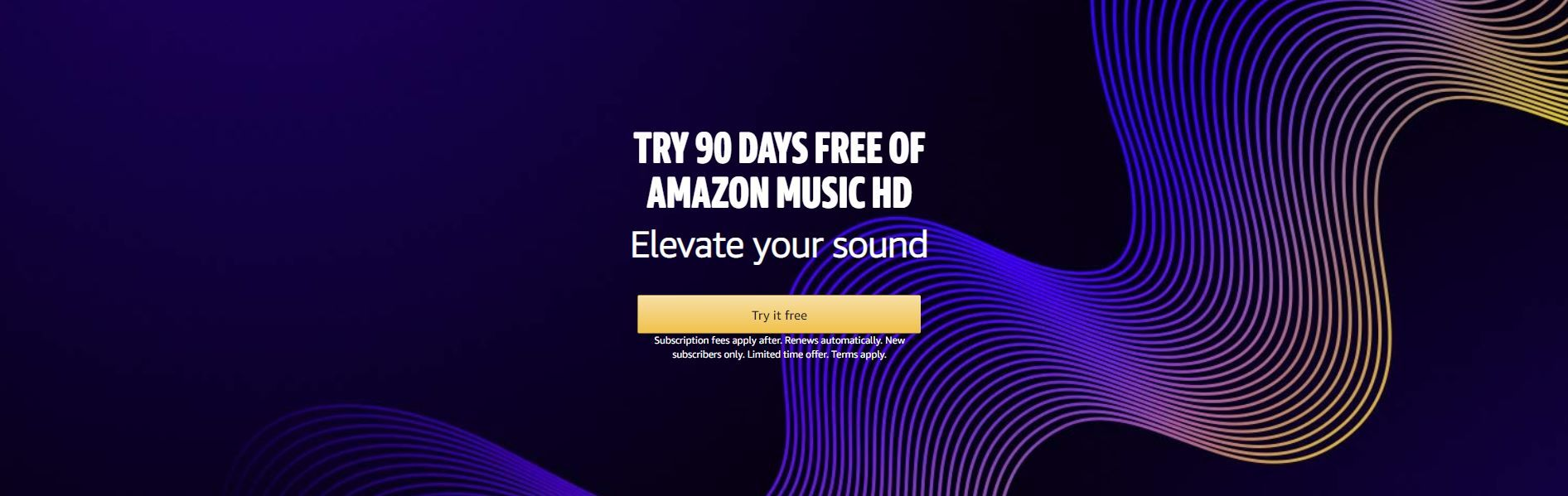 Uk Daily Deals Free 90 Day Trial Of Amazon Music Hd Purevpn For