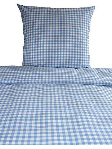 bettw sche landhaus karo hellblau kariert bauern 135x200 fr hling sommer blau bedroom for. Black Bedroom Furniture Sets. Home Design Ideas