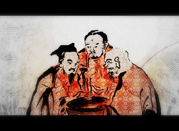 The vinegar tasters is a traditional subject in chinese religious the vinegar tasters is a traditional subject in chinese religious painting the allegorical composition fandeluxe Ebook collections