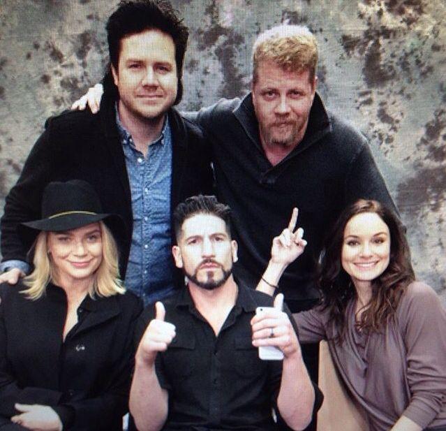 Sarah Wayne Callies And Jon Bernthal The Walking Dead: Josh...