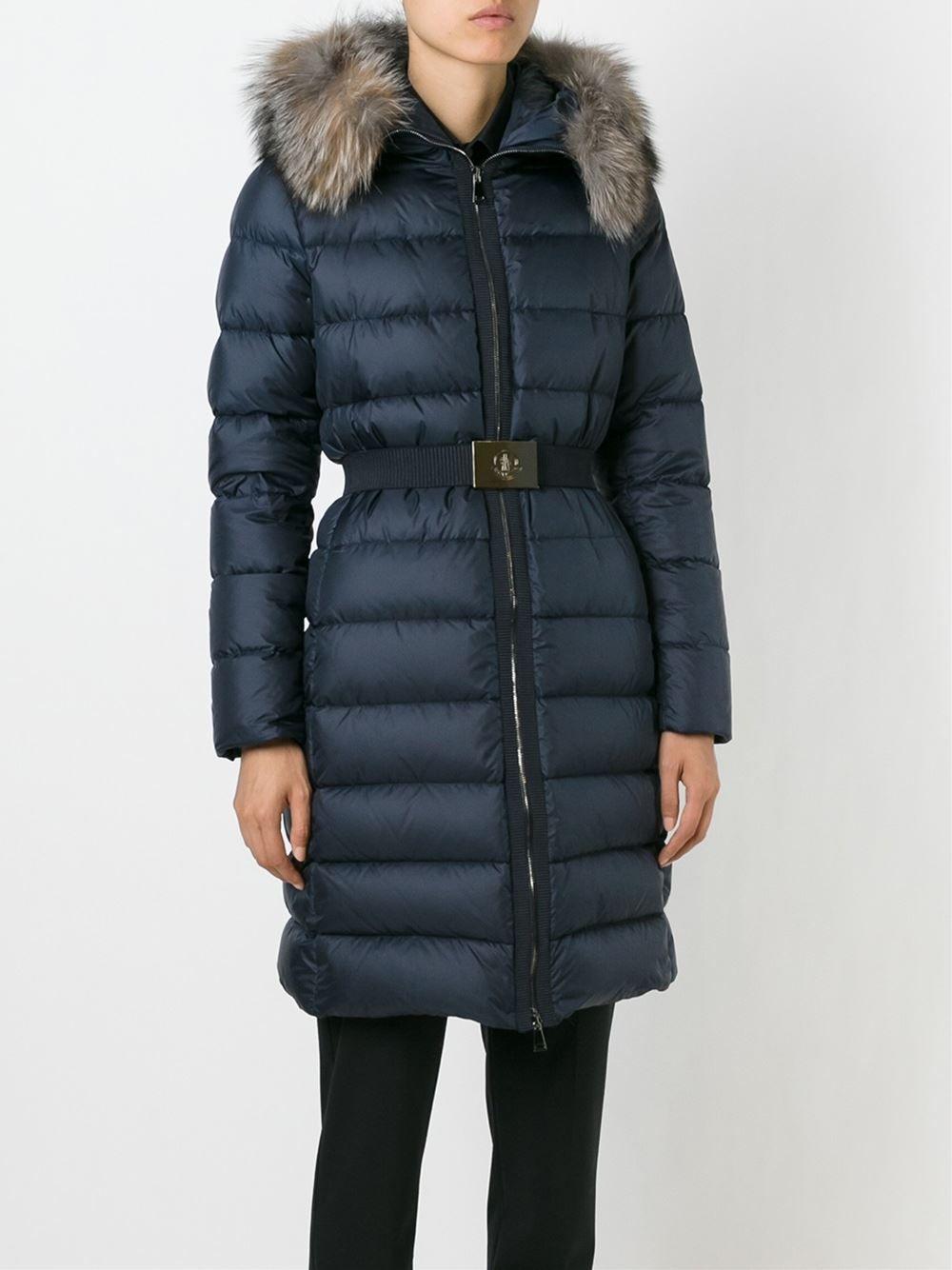 #moncler #coat #jacket #parka #padded #blue #women #fashion