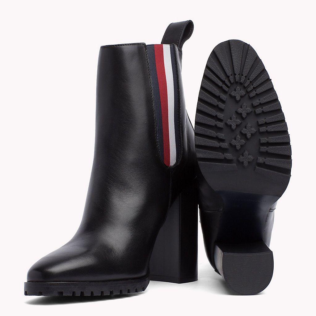 tommy hilfiger gigi hadid heeled ankle boot