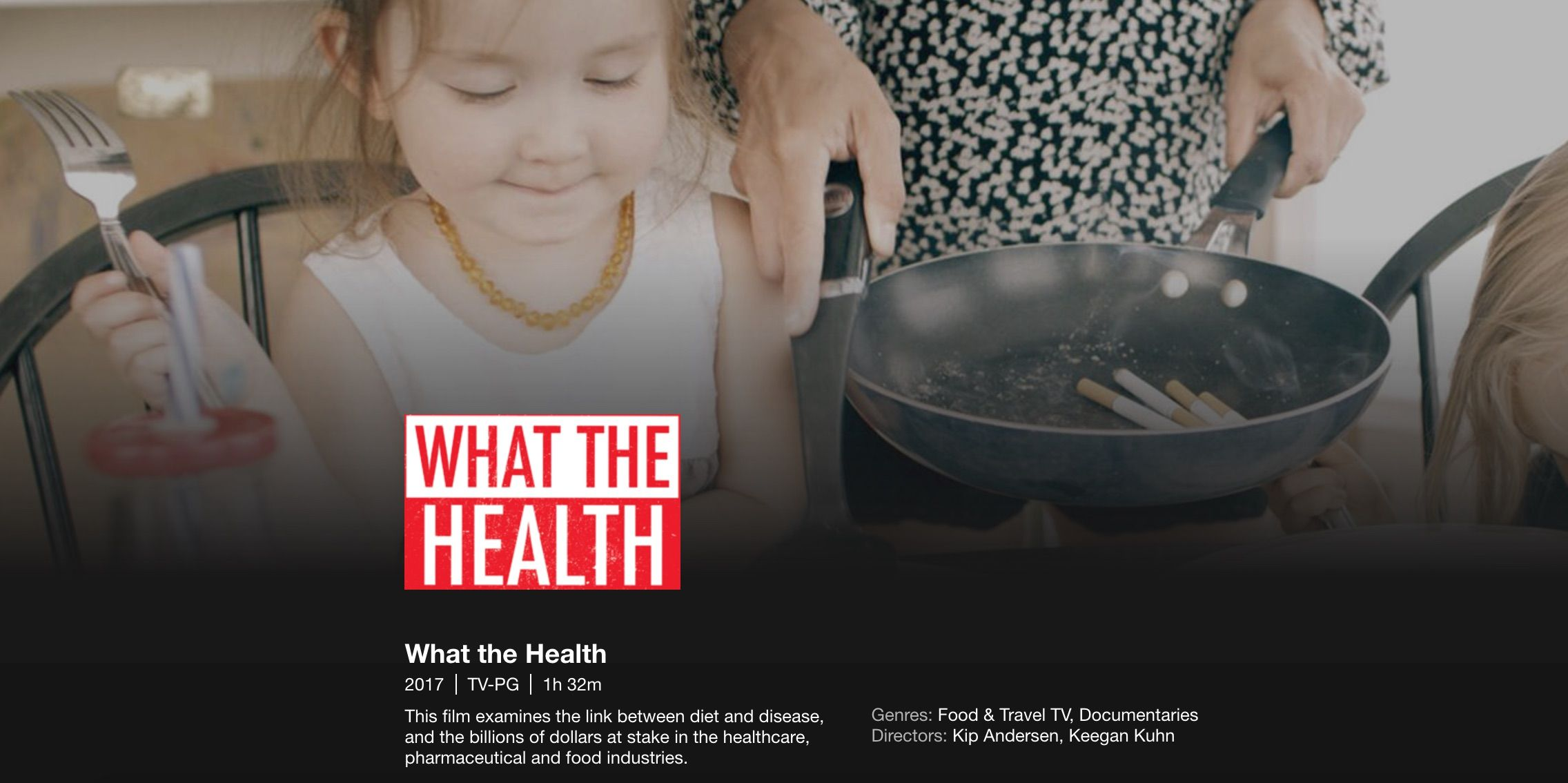 "Nina Teicholz debunks ""What the Health"" documentary"