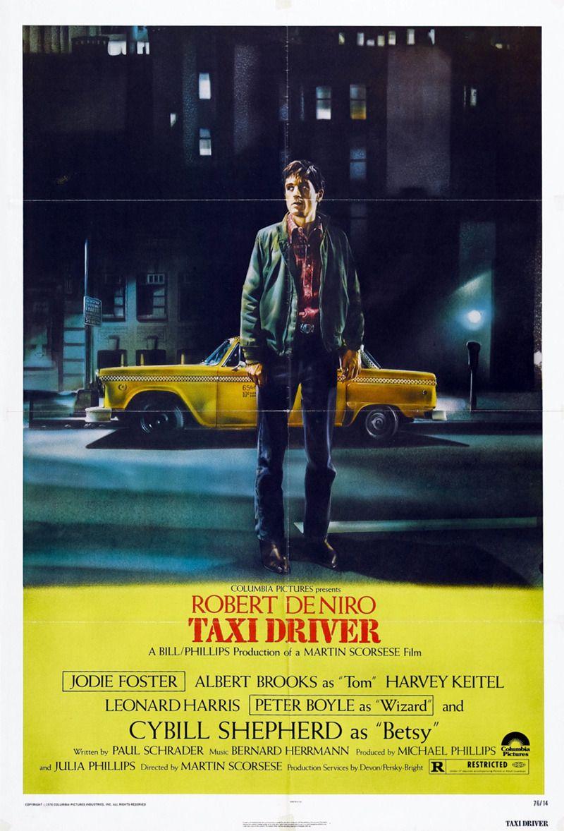 Taxi Driver De Martin Scorsese 1976 Peliculas De Culto Cine Carteles De Cine
