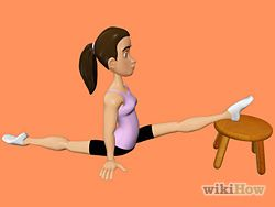 stretch for the splits  wikihow  how to do splits
