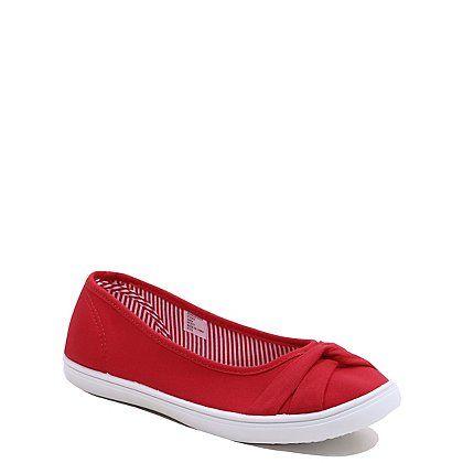 Canvas Twist Front Ballet Shoes | Women | George at ASDA | Ballet ...