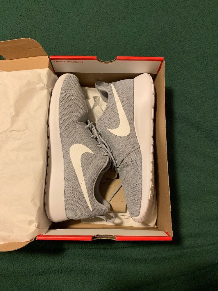 reputable site 1df66 7924a Nike Roshe One Wolf Grey White 511881-023 Size 11.5  fashion  clothing   shoes  accessories  mensshoes  athleticshoes (ebay link)