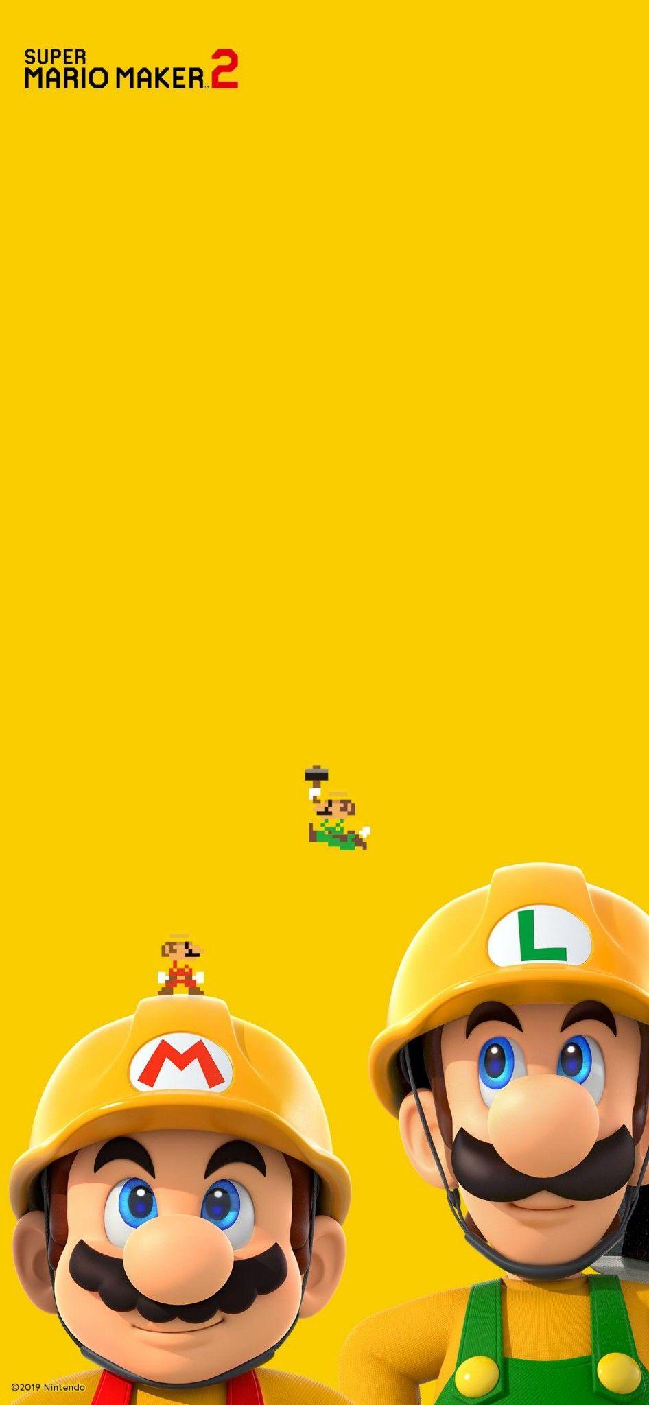 Super Mario Maker 2 Wallpaper Super Mario Art Mario And Luigi Super Mario And Luigi