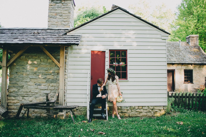 Wedding at Carillon Historical Park // the Brauns