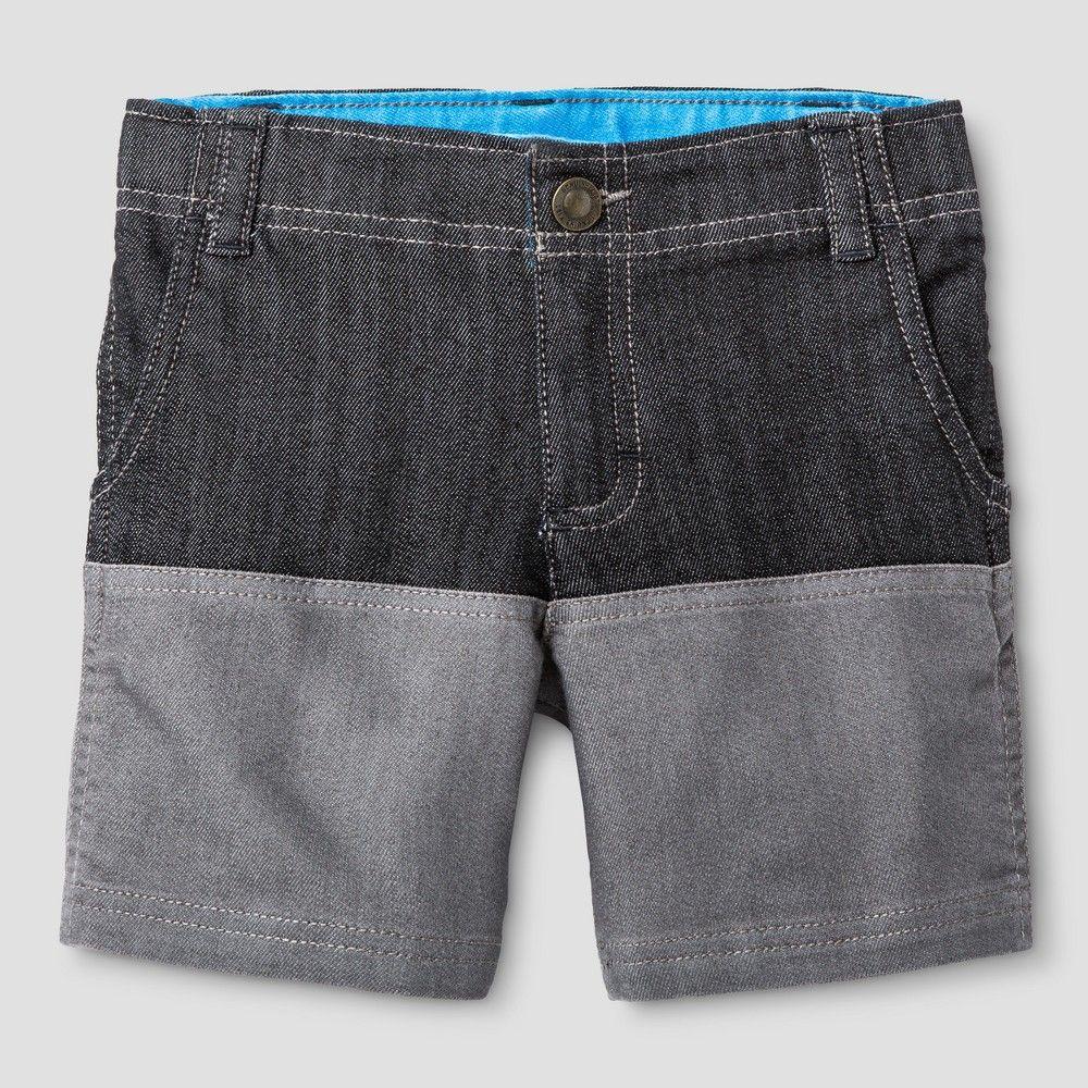 Baby Boys' Colorblock Short Genuine Kids - Gray, Infant Boy's, Size: 18 M