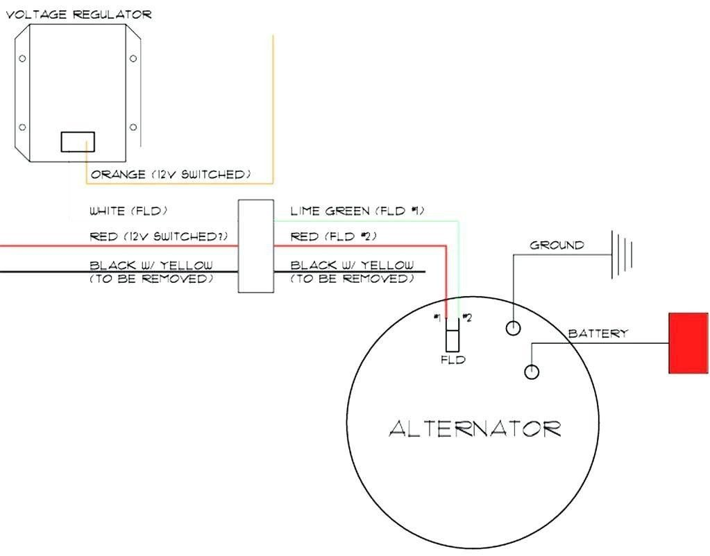 Ford Alternator Wiring Diagram Internal Regulator Alternator