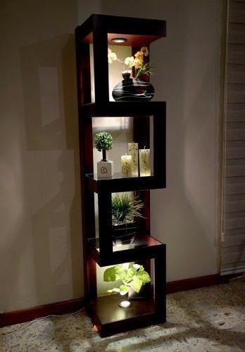 Mueble Moderno Minimalista Esquinero Repisa Decoración Bs