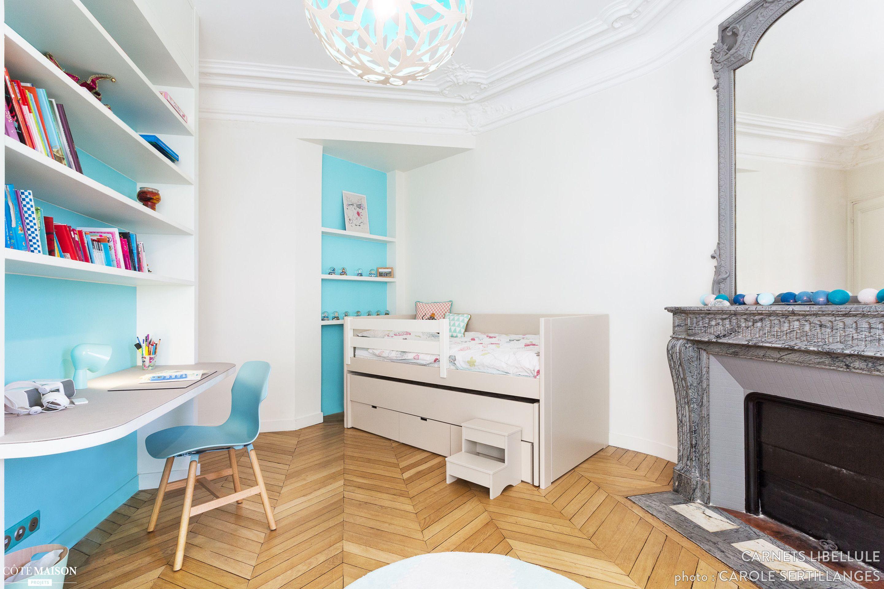 d coration d 39 une chambre de fille paris coralie vasseur. Black Bedroom Furniture Sets. Home Design Ideas