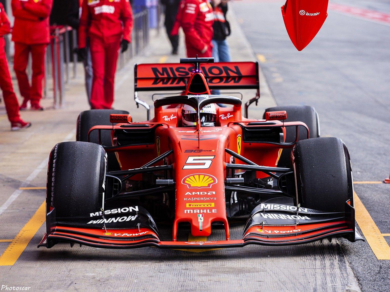Ferrari SF90 F1 2019 sera confiée à Sebastian Vettel et
