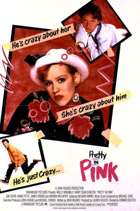 Love This Prettyinpink Poster La Chica De Rosa Peliculas De Comedia Peliculas Cine