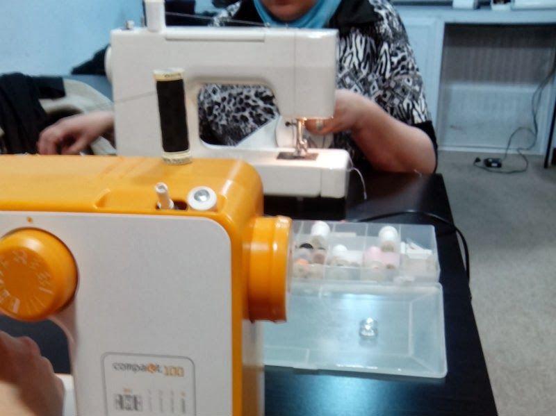Curso en Madrid. Iniciación a la máquina de coser | Cosas