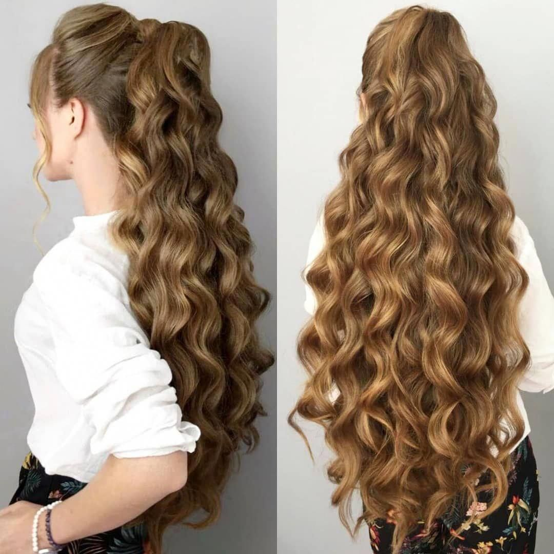 20 Best Long Hairstyles for Women of All Ages 2019 | Really curly hair, Long  wavy hair, Really long hair