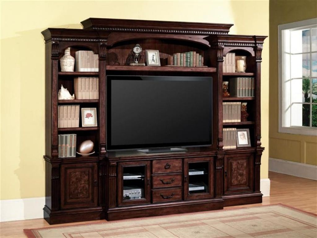 Corsica Estate Wall Unit Tv Stand Entertainment Center Media Storage Cor 700 4