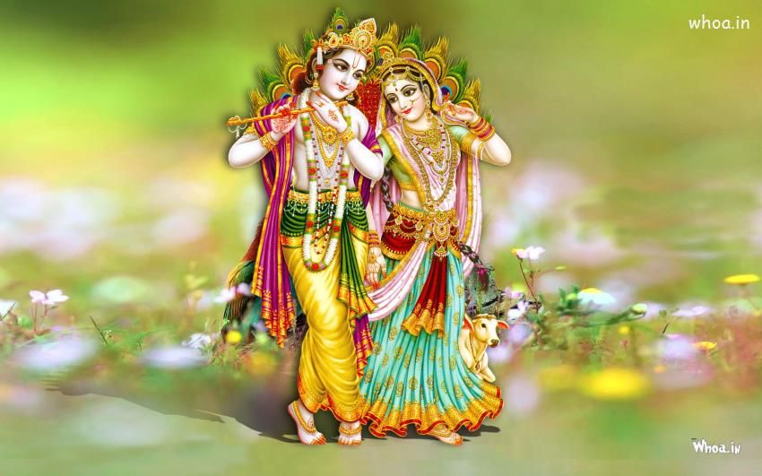 In The Regeneration And Divinisation Of Man The Art Of Divine Symbolism 2 Radha And Krishna Radhe Krishna Krishna Images Krishna Bhajan Radha krishna image hd wallpaper