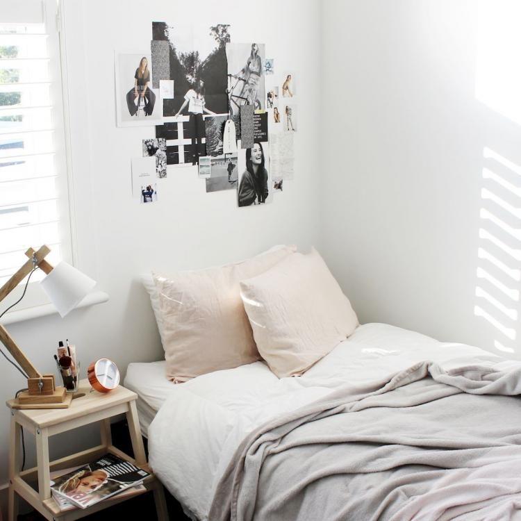 30 Awesome Minimalist Dorm Room Decor Inspirations On A Budget Minimalist Dorm Dorm Room Decor Dorm Inspiration