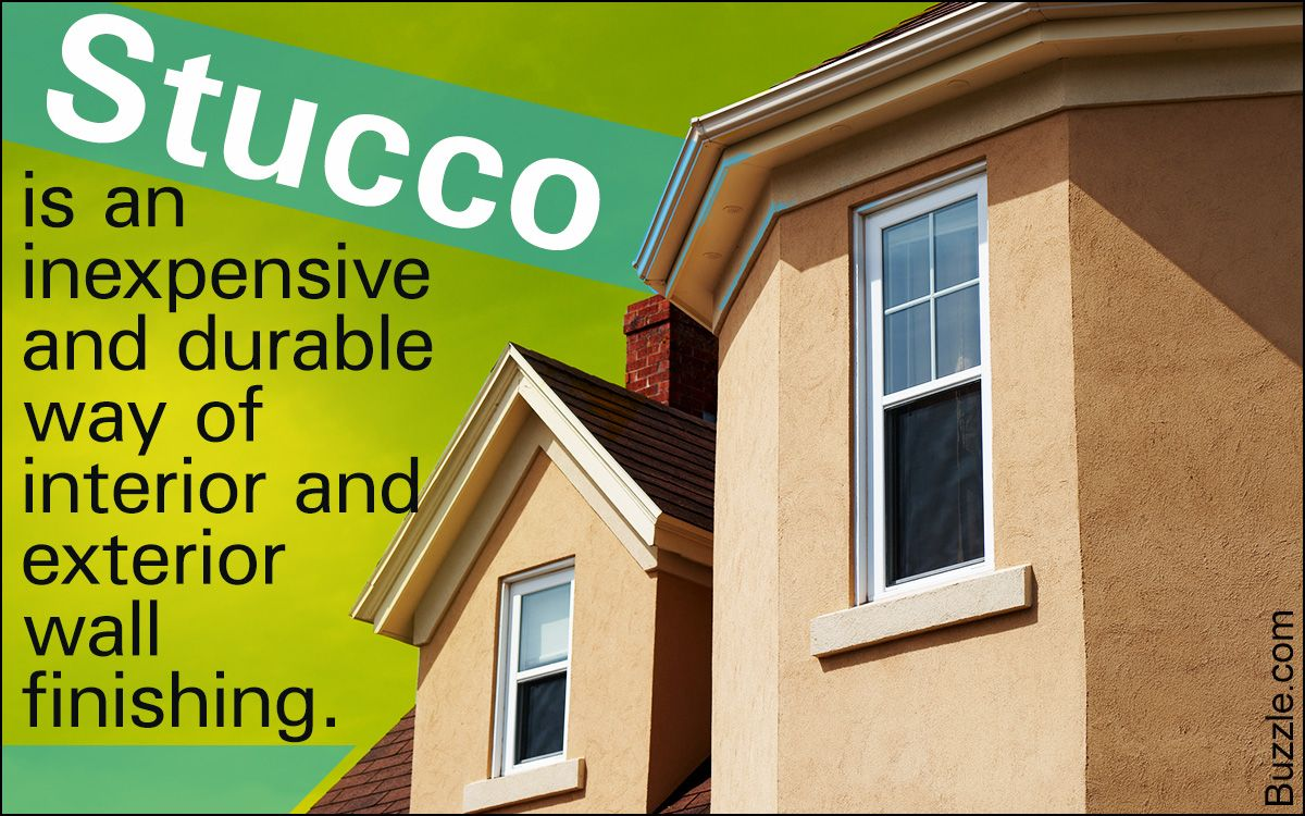 Stucco Offers An Inexpensive And Durable Finish For Interior And Exterior Walls If You Are Unable To Think Of The Right Cinder Block Walls Cinder Block Stucco