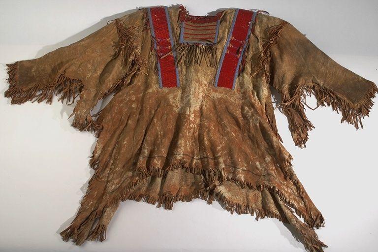 Рубаха, Северные Арапахо (бисер, иглы). 1910 год.