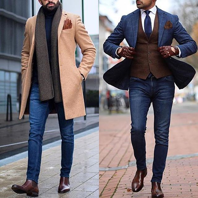 Casual or Classic❓ Which one is your favourite look? Follow @gentwithclassicstyle for more like this. . . . . #menwithclass #menwithstreetstyle #gentwith #gentwithstreetstyle #gentwithfootwear #suitup #ootd #bespoke #dapper #fashionblog #mensfashion #menstyle #mensstyle #menswear #gentlemen #moda #sartorial #menaccessories #pocketsquare #suitandtie #menswear #necktie #classy #details #dappermen #men