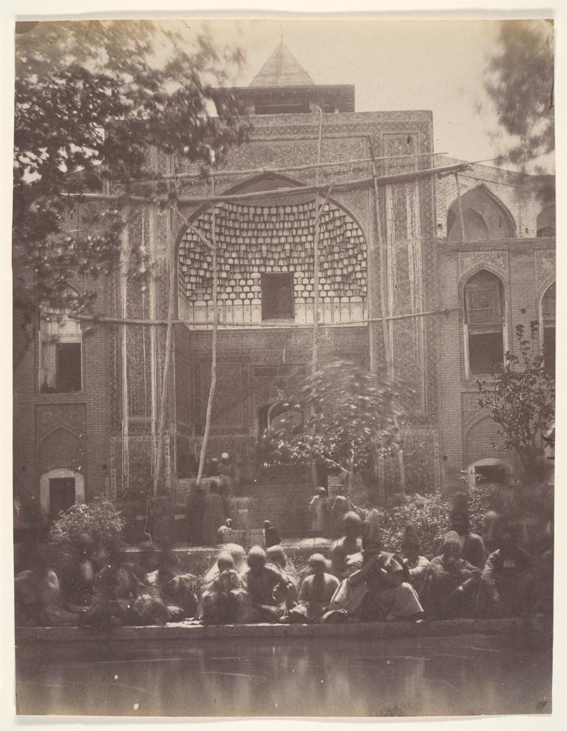 Luigi Pesce Mosque of Qom Iran c