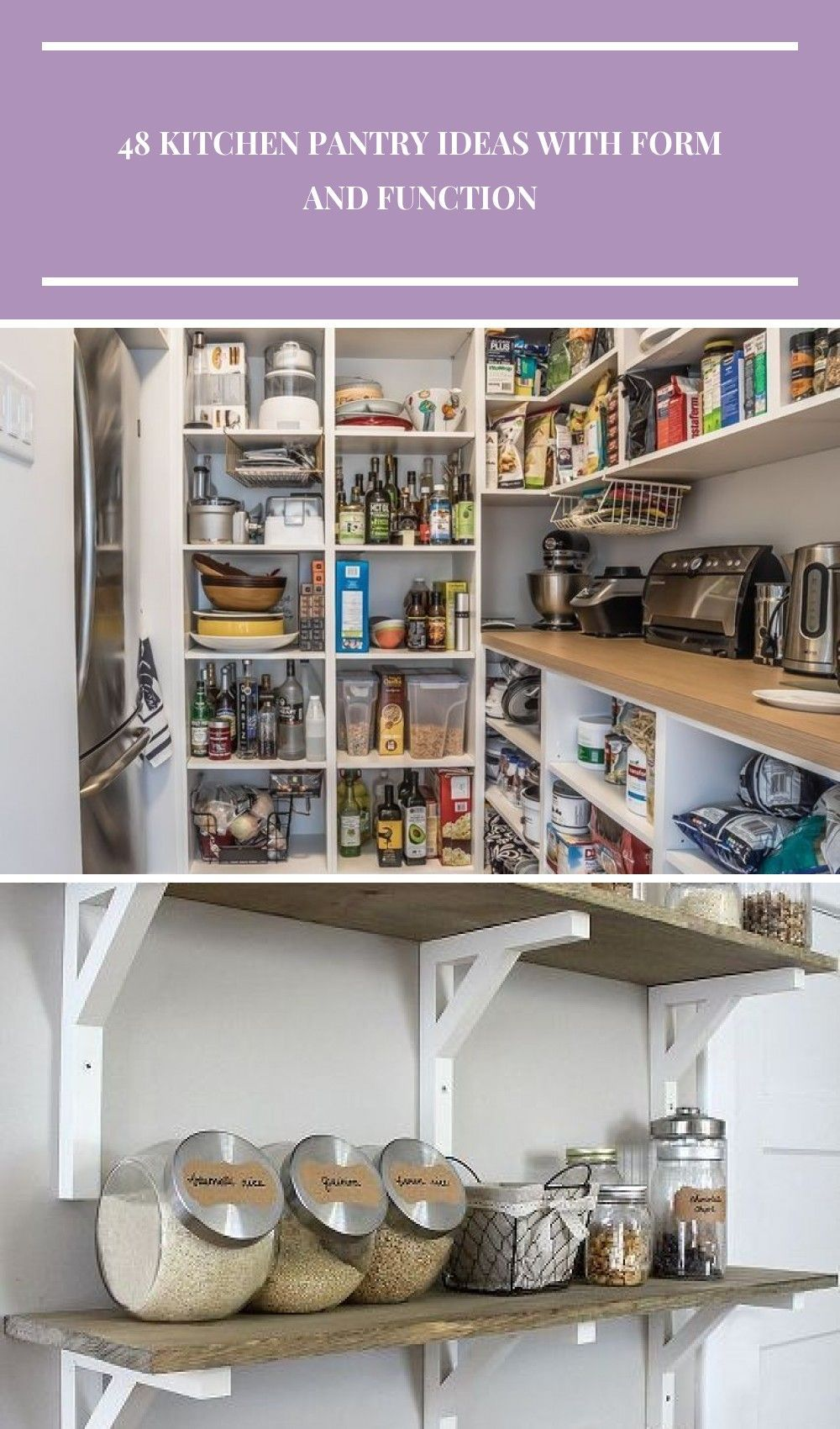 Awesome large kitchen pantry ideas  #pantry #pantryorganization #pantry #pantryorganization #kitchenpantry #kitchenstorage Küchenaufbewahrung 48 Kitchen Pantry Ideas with Form and Function #largepantryideas Awesome large kitchen pantry ideas  #pantry #pantryorganization #pantry #pantryorganization #kitchenpantry #kitchenstorage Küchenaufbewahrung 48 Kitchen Pantry Ideas with Form and Function #largepantryideas