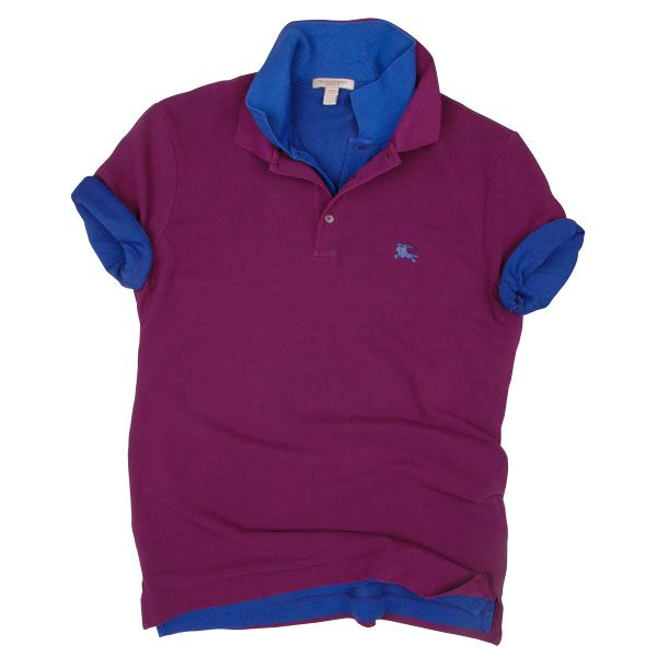 Polos en jersey de coton  BURBERRY Soft Cotton Jersey Polo Shirts  OGILVY  Monsieur fb5559278b0