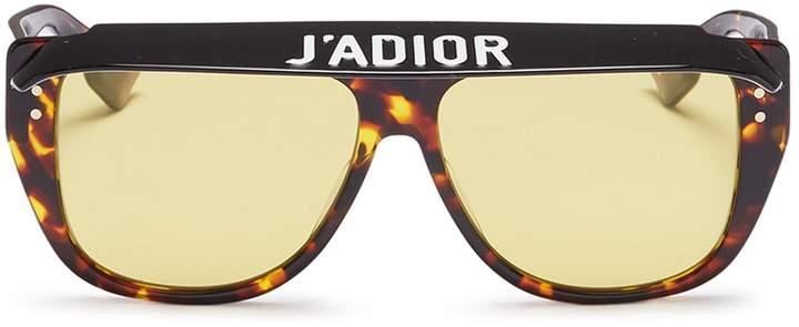 3e39485c89b Christian Dior  Dior Club 2  detachable visor acetate D-frame sunglasses.