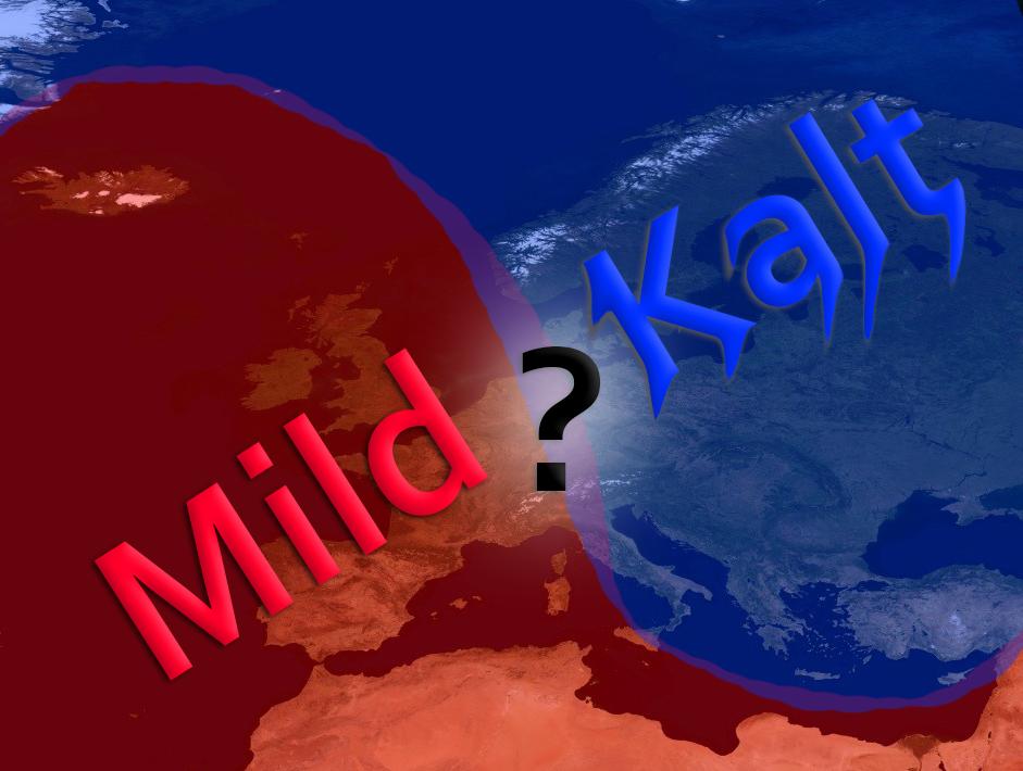 Kampf der Giganten Zwischen Warm und Kaltluft +++ Dieses