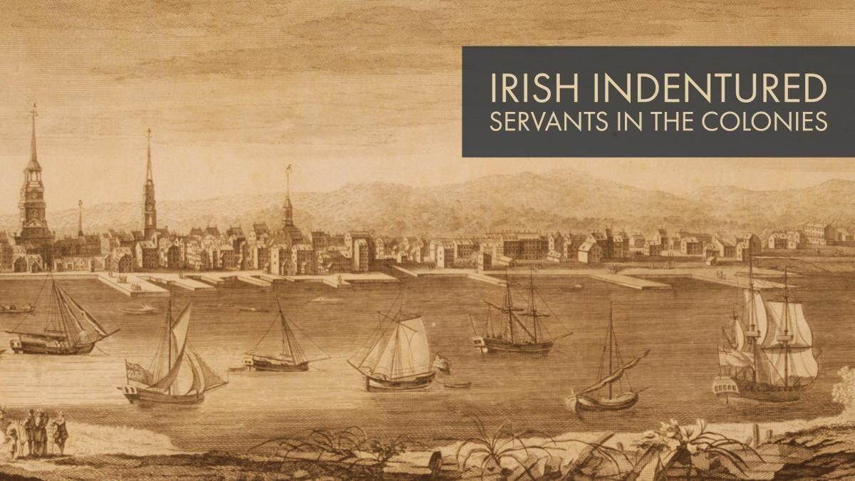 Irish Indentured Servants in the Colonies Indentured