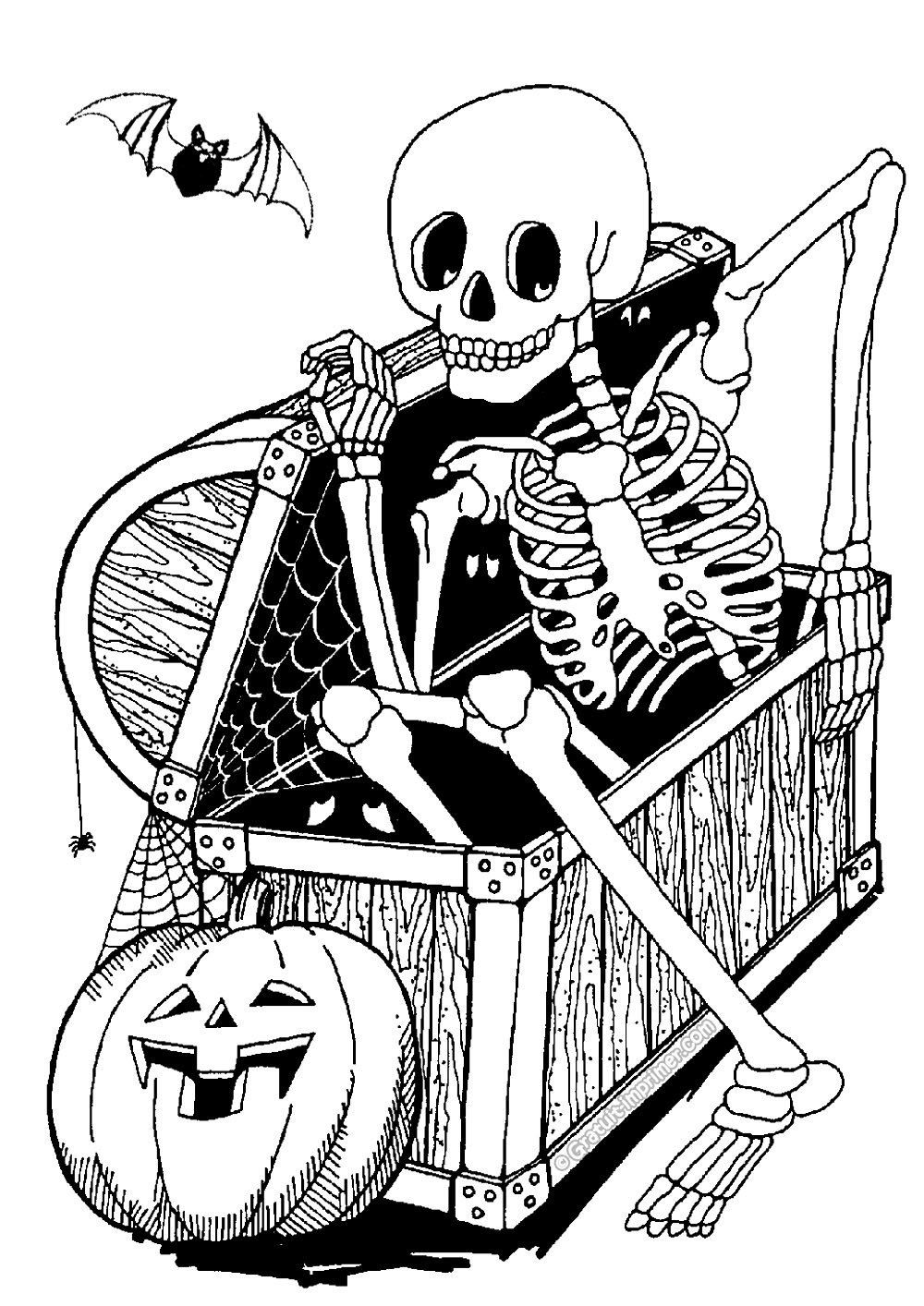 Kostenlose Halloween Malvorlagen Halloween Kostenlos zum ...