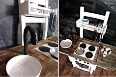 diy kinderk che ein stuhl wird zur kinderk che freshdads v ter helden idole. Black Bedroom Furniture Sets. Home Design Ideas