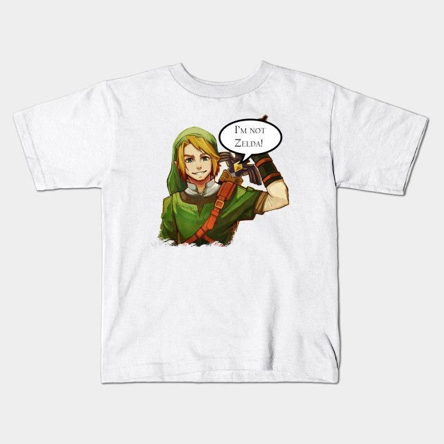 I'm Not Zelda Young T-Shirt