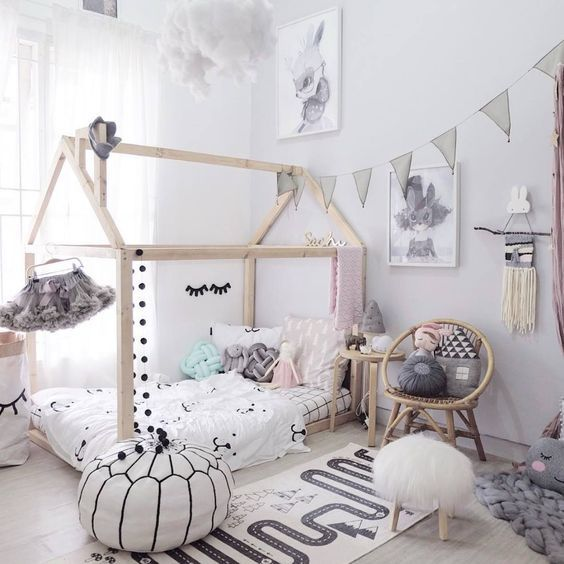 1 howne blog idee deco inspiration astuce enfant chambre kids room lit cabane montessori idee. Black Bedroom Furniture Sets. Home Design Ideas