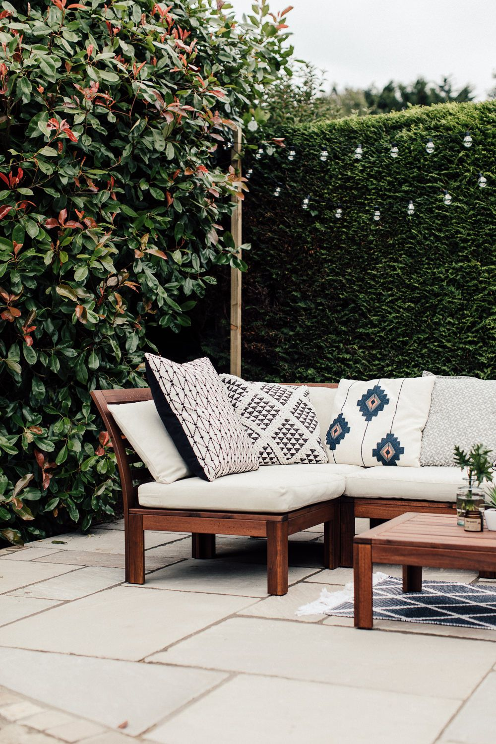 Ikea Küchen Katalog 2016 Pdf A Patio For Lounging - Rock My Style | Uk Daily Lifestyle Blog | Ikea Outdoor Furniture, Ikea Outdoor, Apartment Patio Decor