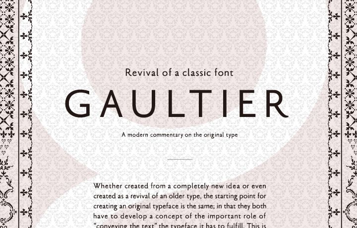 02 | Revival of a classic typeface