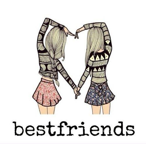 best friends forever kleurplaten friends