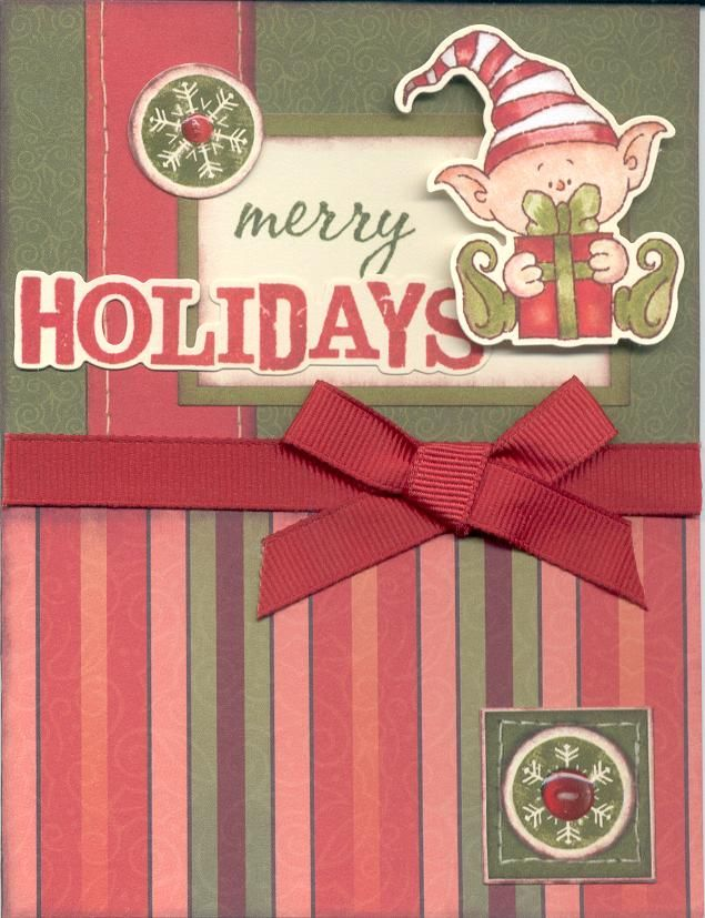 Christmas Card Close To My Heart Card Kit
