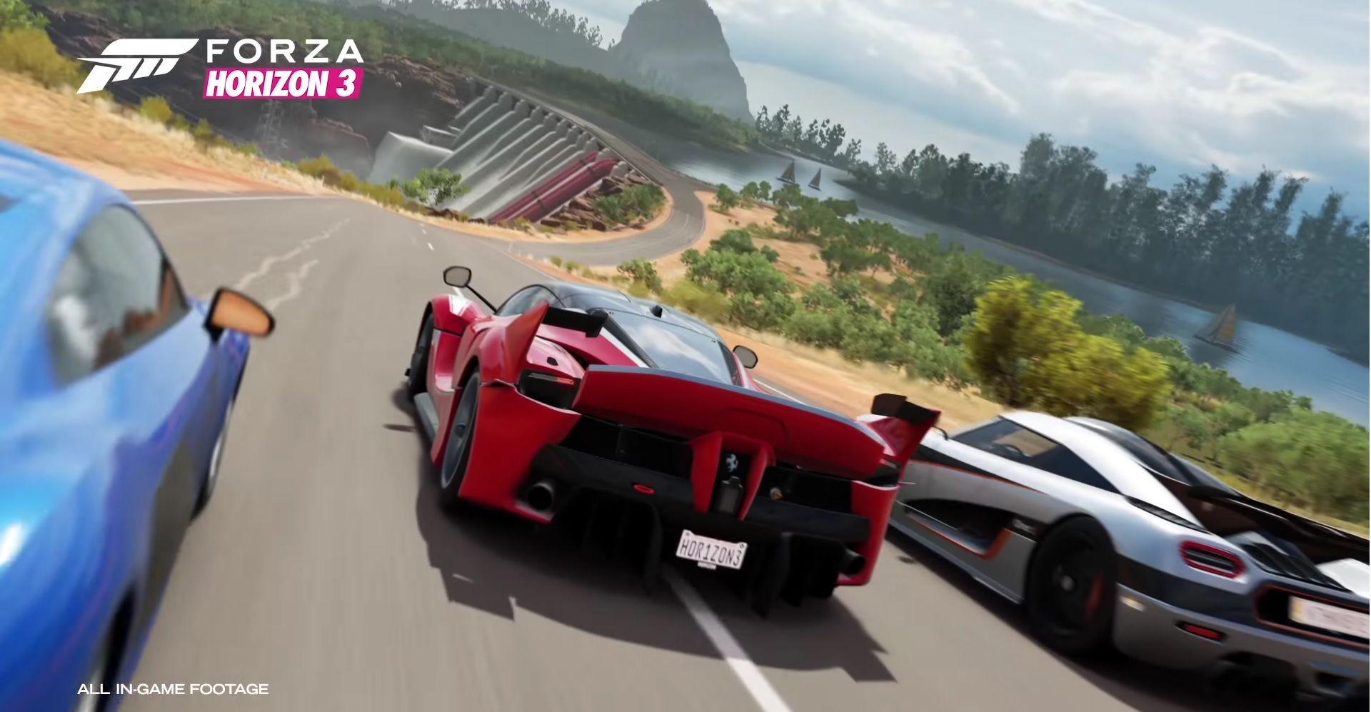 Dit Zijn De Eerste 165 Auto S Van Forza Horizon 3 Racing Game
