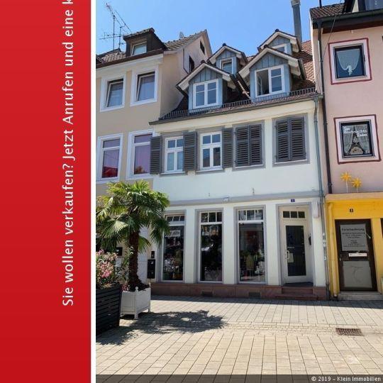 Wohn und Geschäftshaus in Lahrer Innenstadt! ++Ideale